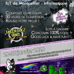 Affiche - Code Game Jam 2020 - 4eme édition